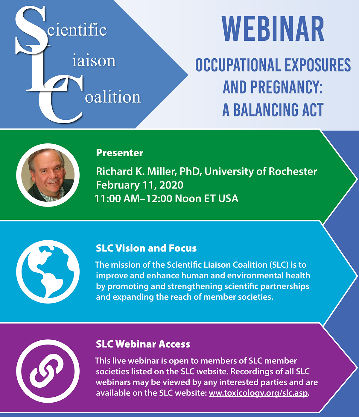Scientific Liaison Coalition Webinar