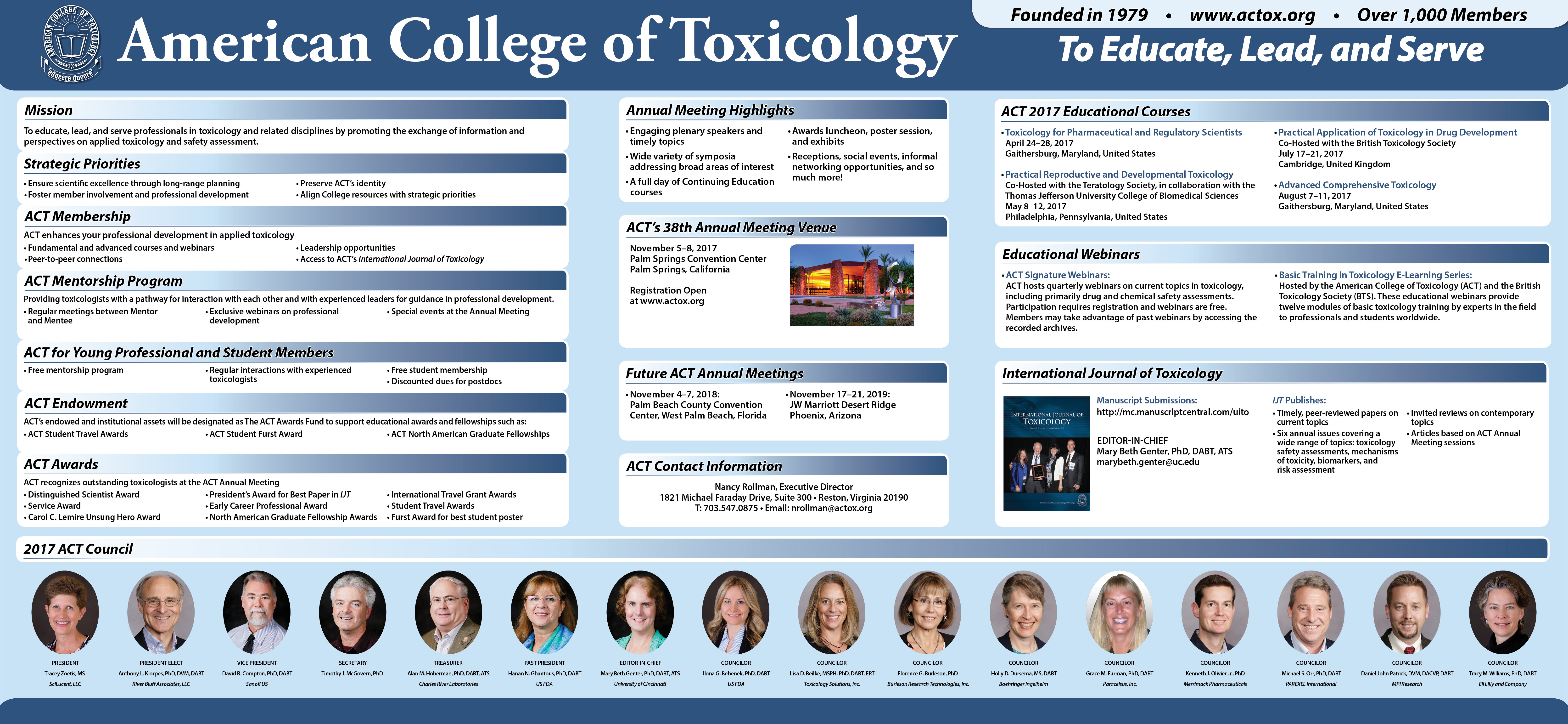 Society of Toxicology - Annual Meeting 2017